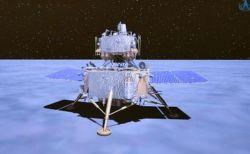 中国の探査機が月面への着陸に成功、2kgの土壌を地球へ持ち帰る予定