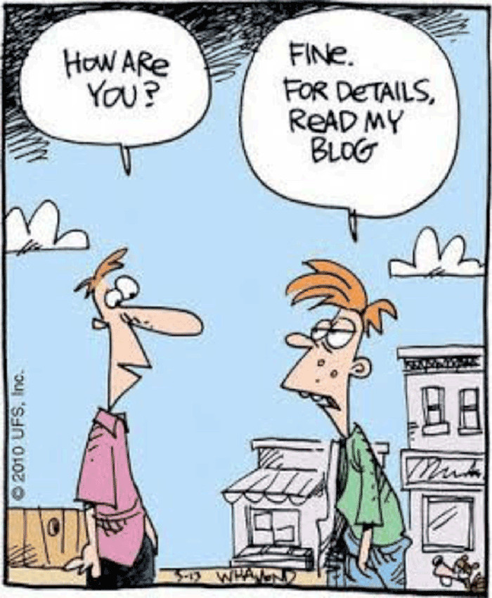 Blog, funny image
