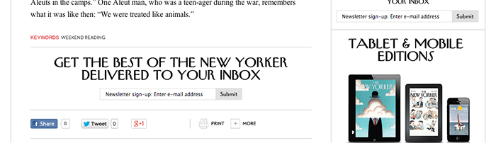 8 tips perfect blog post New Yorker conclusion