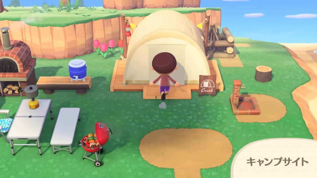 頻度 あつ森 キャンプ