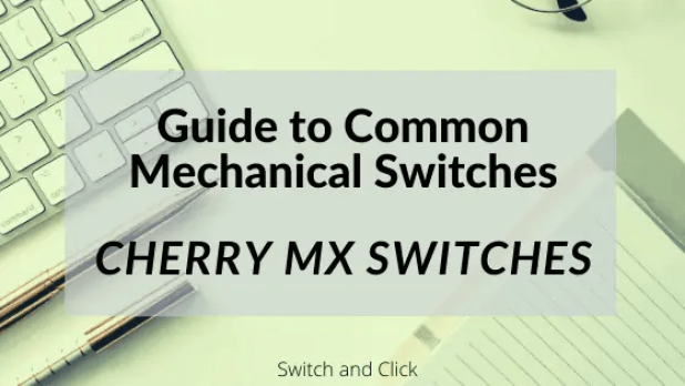 Blog title: guide to Common Mechanical Switches: Cherry MX Switches on Switch and Click.