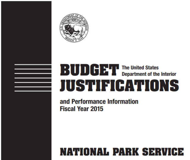 National Park budget justifications