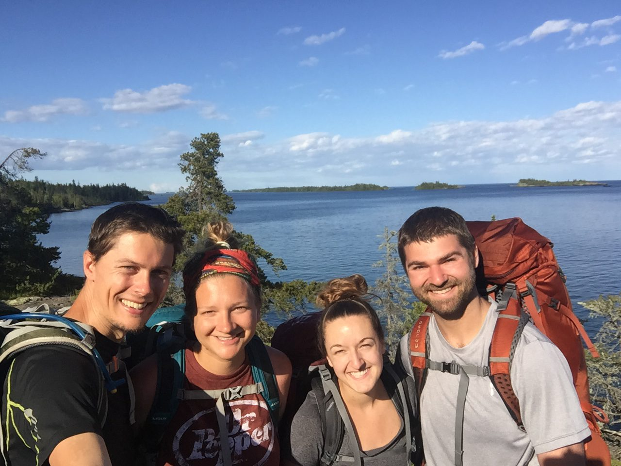 ISLE ROYALE VIDEO: Backpacking, moose, lakes, and leeches