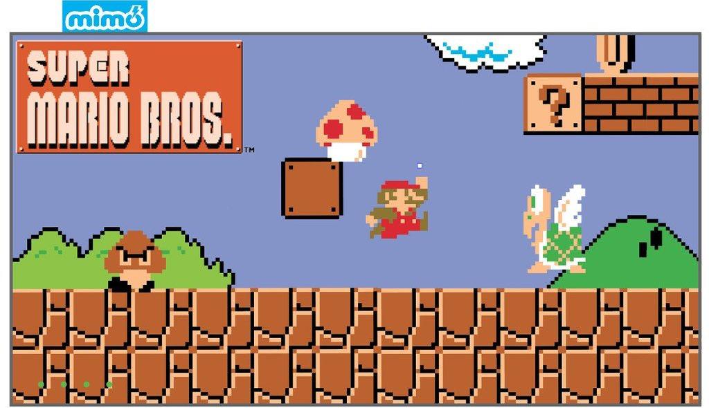 Super Mario MimoPowerDeck. Courtsey of Mimoco.com