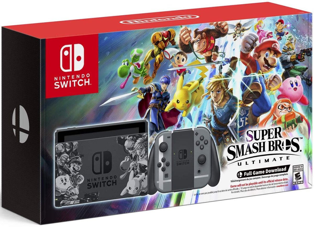 Nintendo Switch – Super Smash Bros. Ultimate Edition