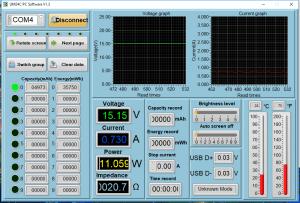 Power meter readings - Asleep