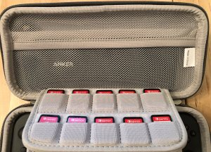 Inateck Carrying Case with a 26,800mAh power bank and USB-C cable.