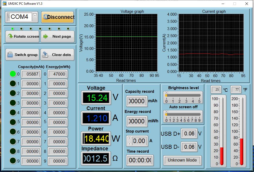 Power meter readings - Switch Gaming