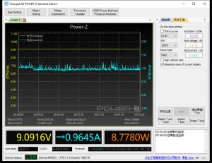 BlitzWolf BW-S10 30W USB PD - iPhone 8 power meter