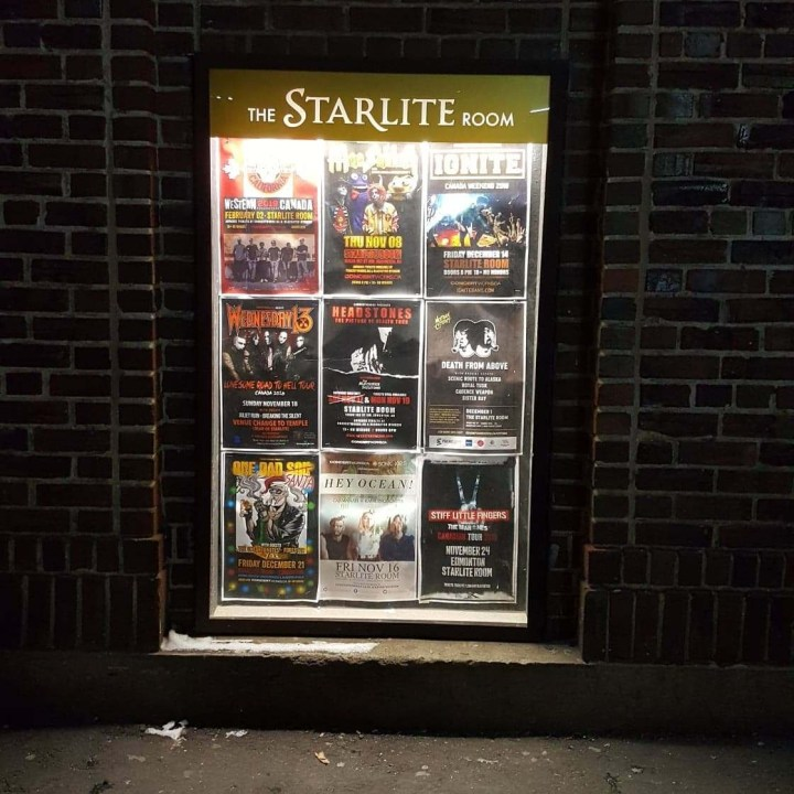 Starlite Room, Mac Sabbath, Frank And Deans, Electric Audrey 2, Drive-thru metal