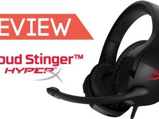 hyperx cloud stinger headset review feature image