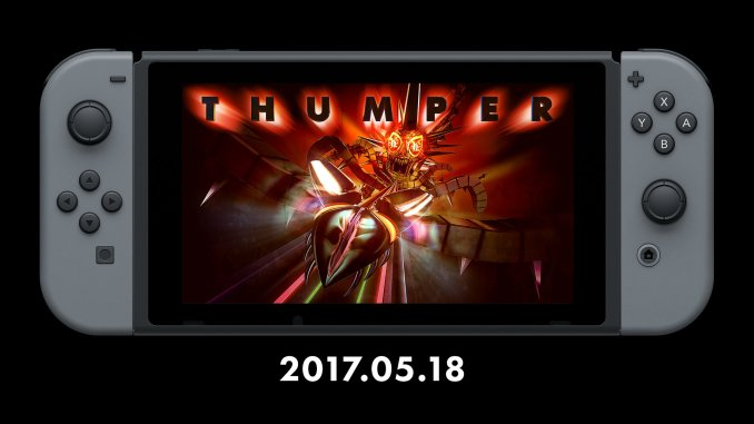 thumper for switch release date may 18 2017