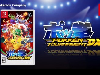 pokken tournament deluxe logo and box art