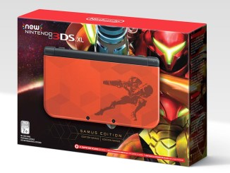 box art for the metroid-themed new 3ds xl