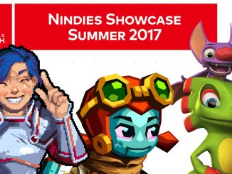various characters from previous nindies showcase