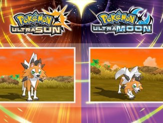 dusk form lycanroc in pokémon ultra sun and ultra moon