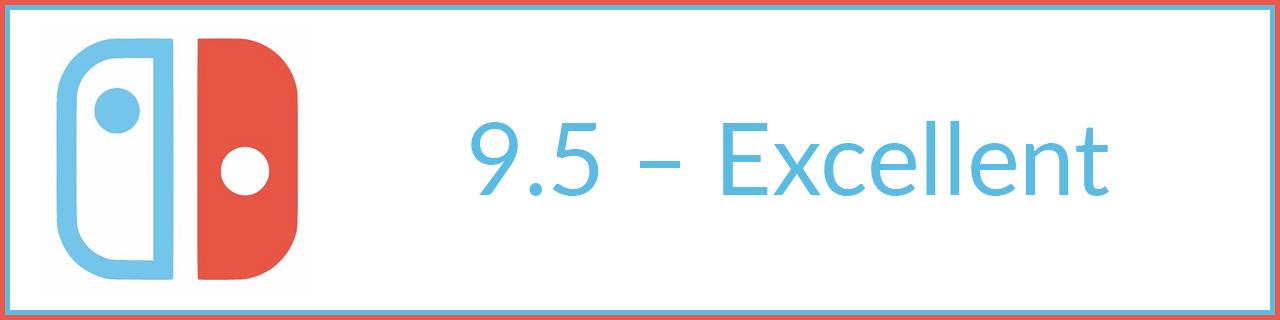 9.5 - excellent