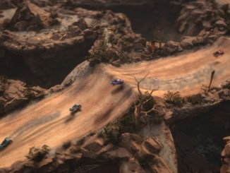 cars racing in mantis burn racing