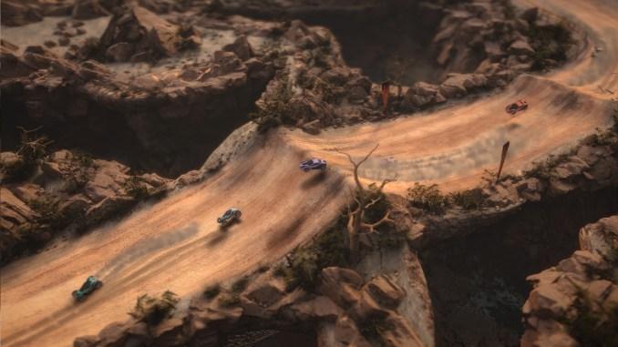 cars racing in mantis burn racing