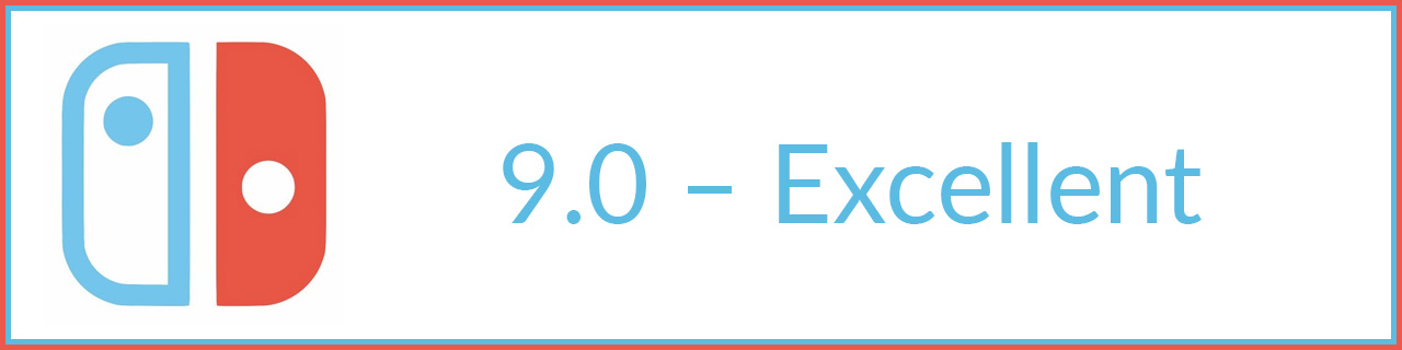 9.0 excellent