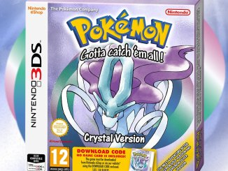 pokemon crystal 3ds box art
