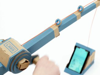 nintendo labo fishing rod
