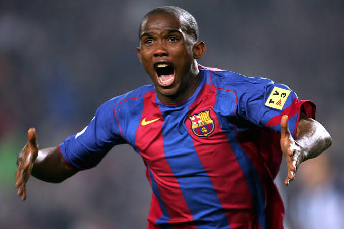 Barcelona Legend, Eto'o Involved in Car Accident