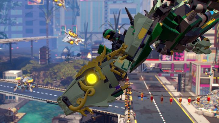 LEGO Ninjago Switch Game