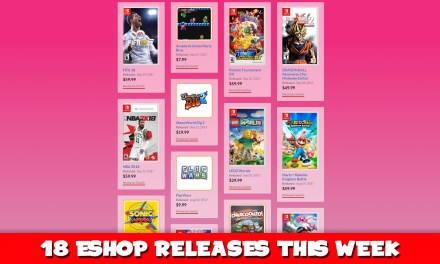NINTENDO RELEASES 18 NEW ESHOP GAMES THIS WEEK