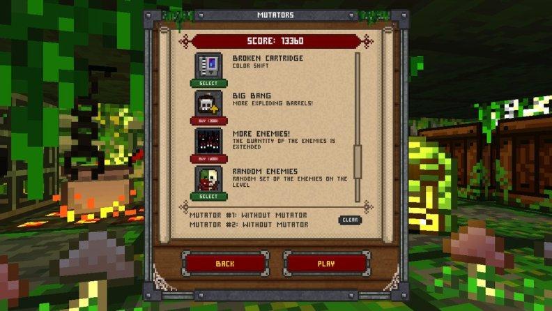 One More Dungeon Mutators