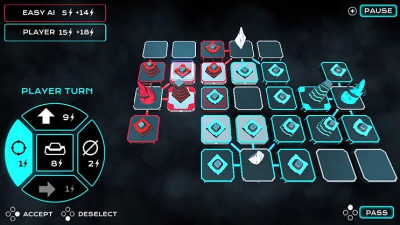 Tactical Mind grid board