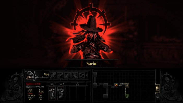 Darkest Dungeon fearful
