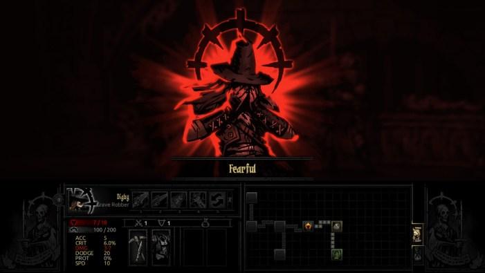 Darkest Dungeon fearful