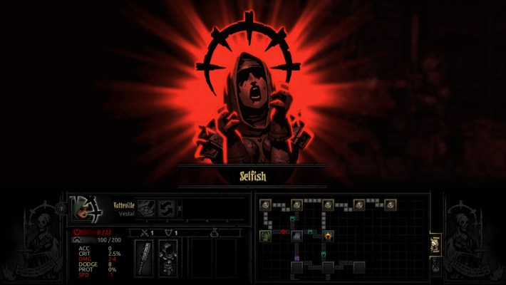 Darkest Dungeon Selfish Affliction
