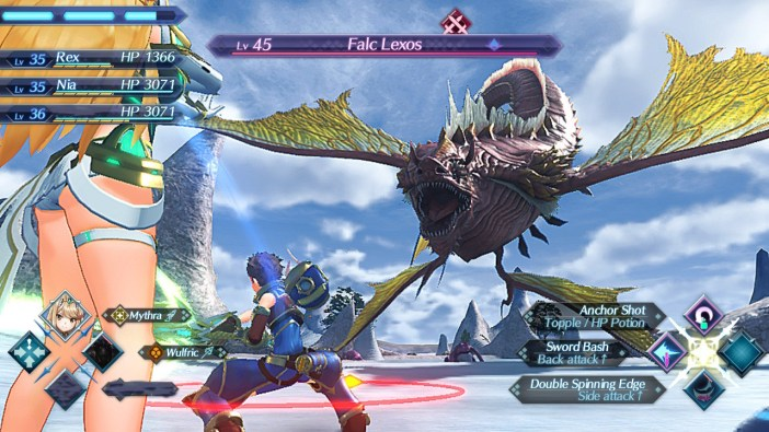 Xenoblade Chronicles 2 Battle