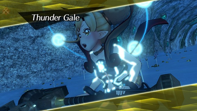 Thunder Gale Blade Combo