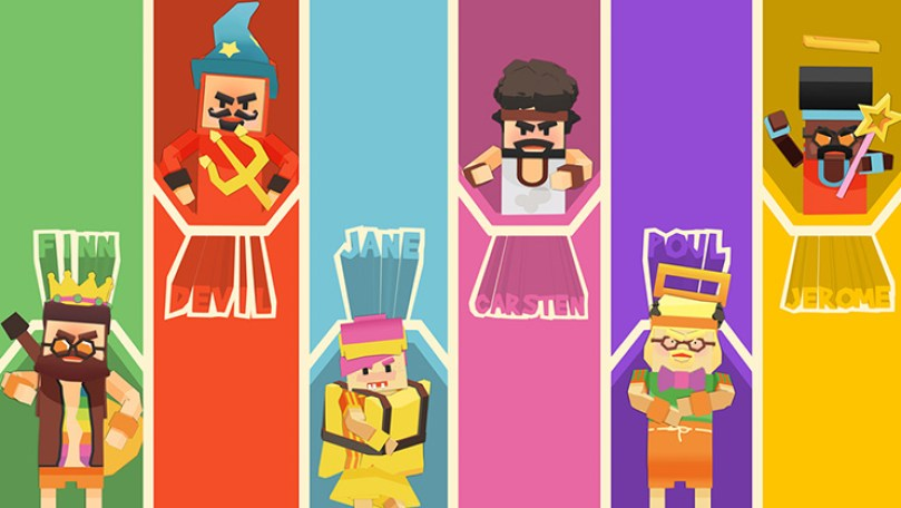 Stikbold characters