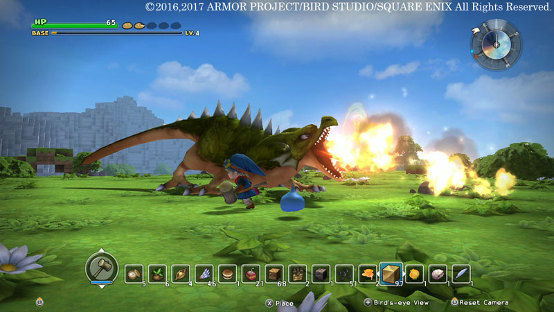Dragon Quest Builders Dragon