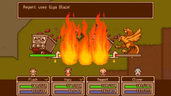 The Longest 5 Minutes Giga Blaze