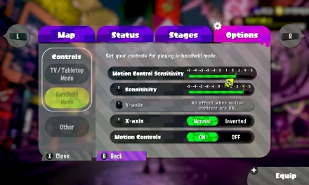 Try Turning Up The Aiming Speed In Splatoon 2