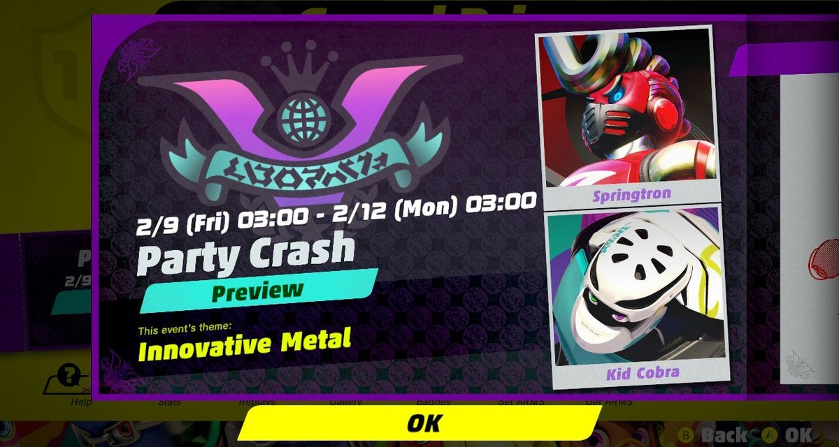 Next Arms Party Crash Features Springtron vs. Kid Cobra
