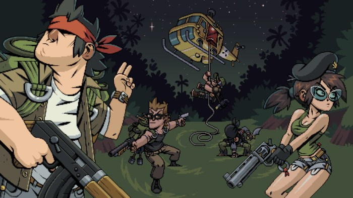 Mercenary Kings Intro