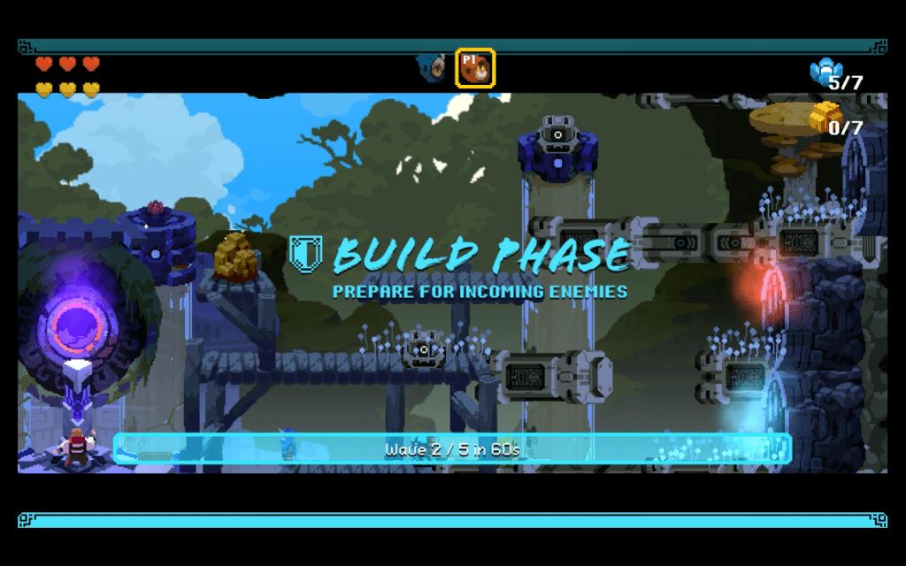 aegis defenders building phase