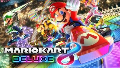 1) Mario Kart 8 Deluxe