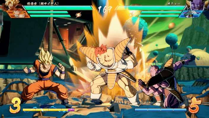 Goku vs. the Ginyu Force