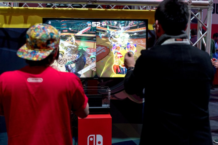 ARMS motion controls