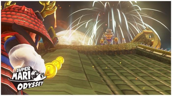 Mario Odyssey Bowser's Castle
