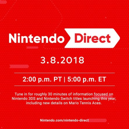 March 8th Nintendo Direct