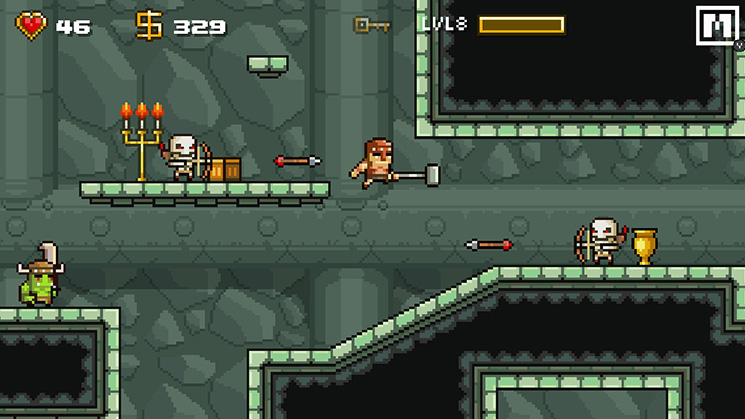 Devious Dungeon 1