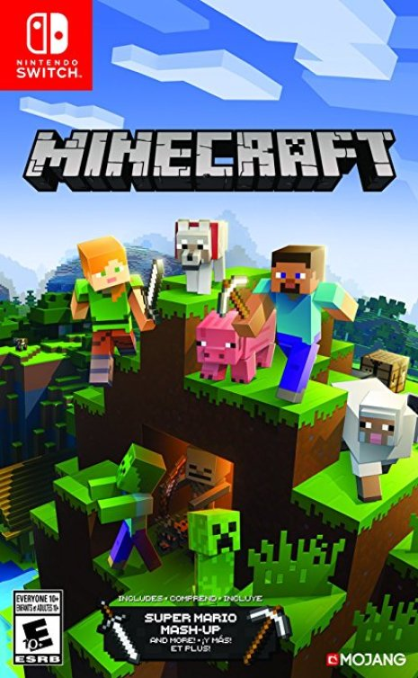 Minecraft For Nintendo Switch Gets Physical Release